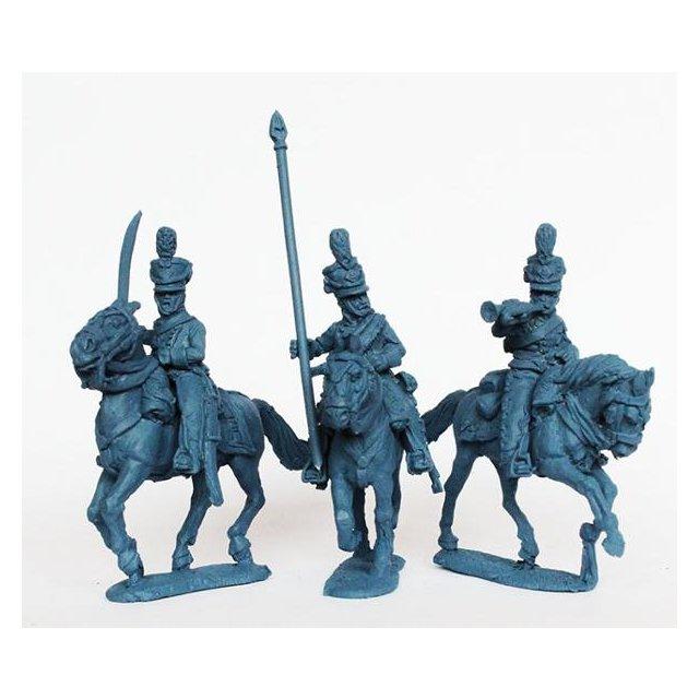 Danish Rytter /Norwegian Dragoons 1812-14 command galloping