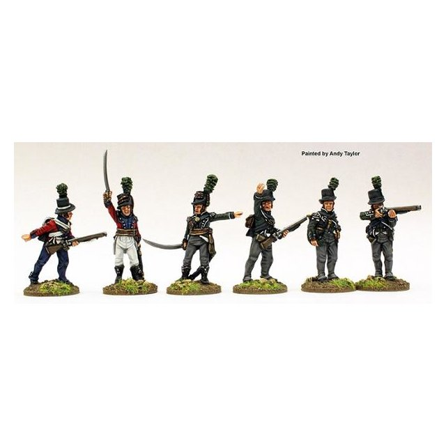 Jaeger and Light Infantry command 1802-08