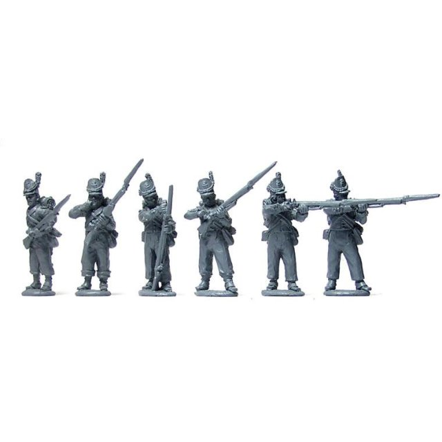 Belgian Line Infantry firing line, centre companies