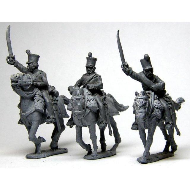 Belgian 5th Light Dragoons command