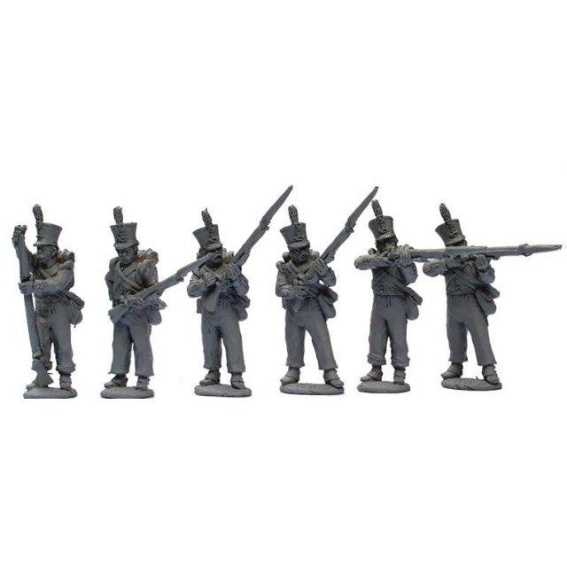 Dutch/Belgian Jager/Chasseur Flank companies firing line