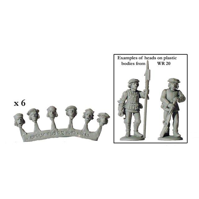 1490-1520 European heads (20)