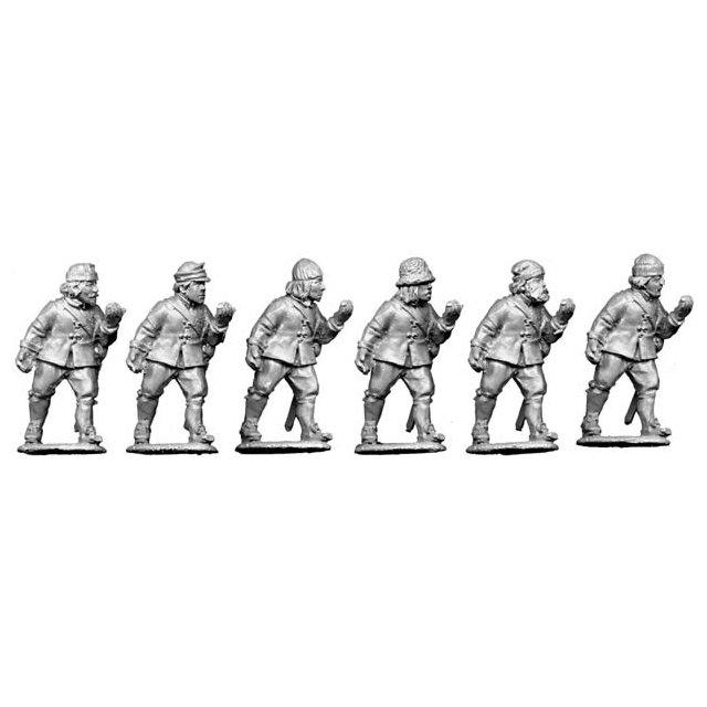 Unarmoured pike (no helmets) advancing