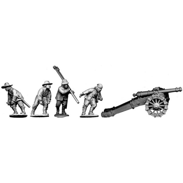 Minion (4 pounder gun) plus crew manouvering