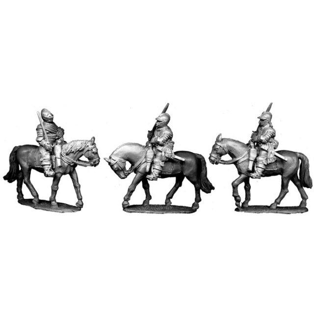 Cuirassiers, drawn swords