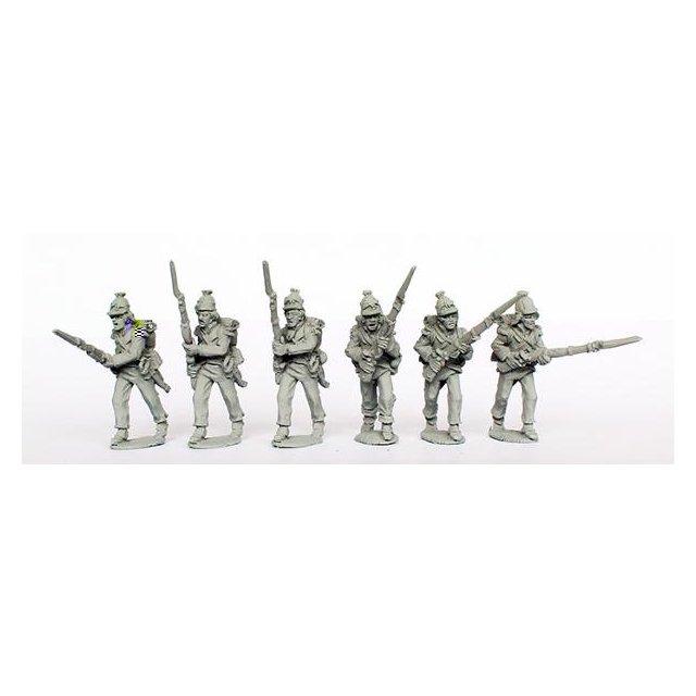 Light Infantry attacking ( Kleber ordnance)