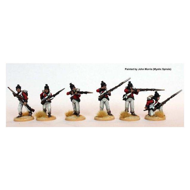 Fusiliers skirmishing