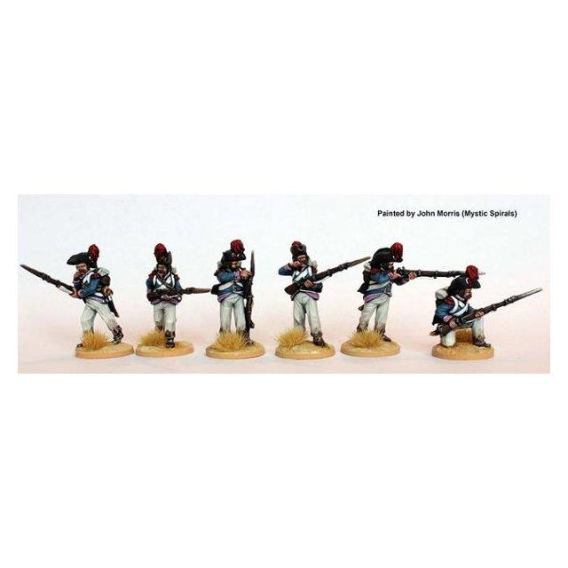 Grenadiers/Carabiniers skirmishing