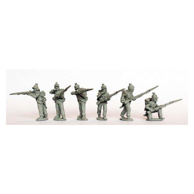 Light Infantry (chasseurs) skirmishing