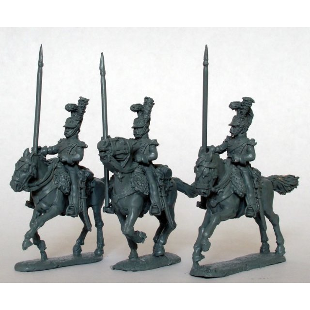 Light Horse Lancers of the Line, lances up-right, galloping,  E