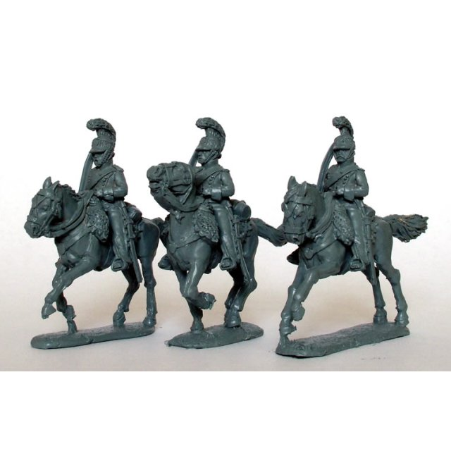 Light Horse Lancers of the Line, 2nd rank, swords drawn
