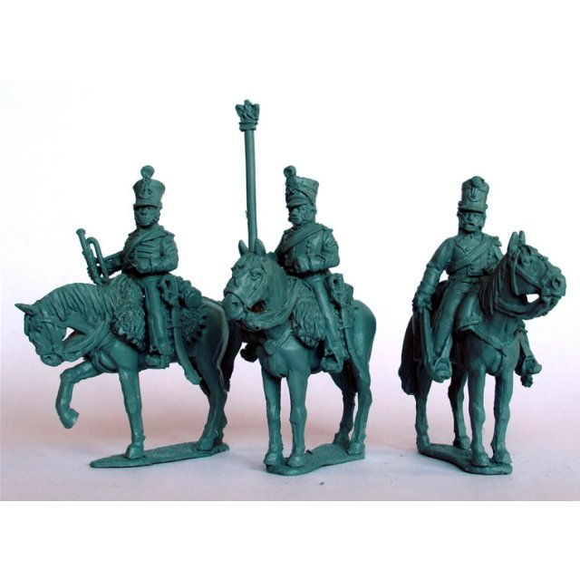Chasseurs a Chevalcommand on standing horses