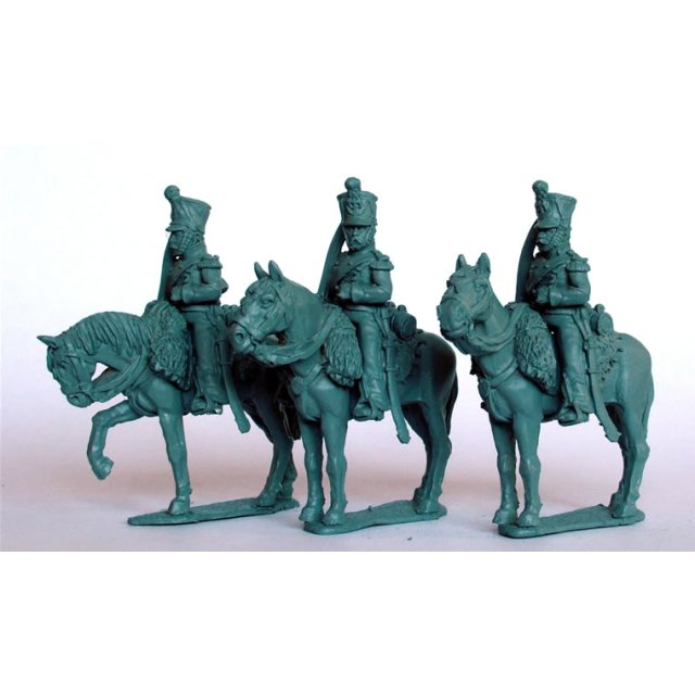 Chasseurs a Cheval ,Elite coy. on standing horses