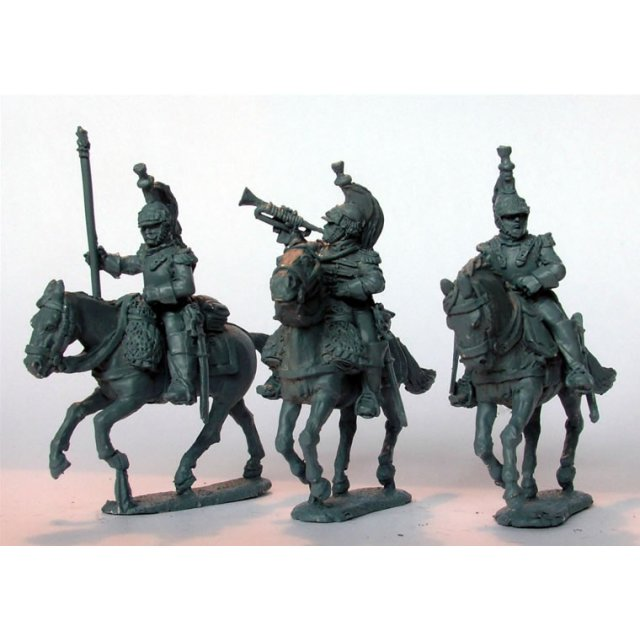 Cuirassier command galloping