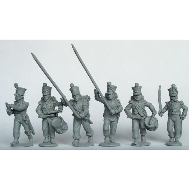 Young Guard ,Voltigeurs/Tirailleurs command advancing
