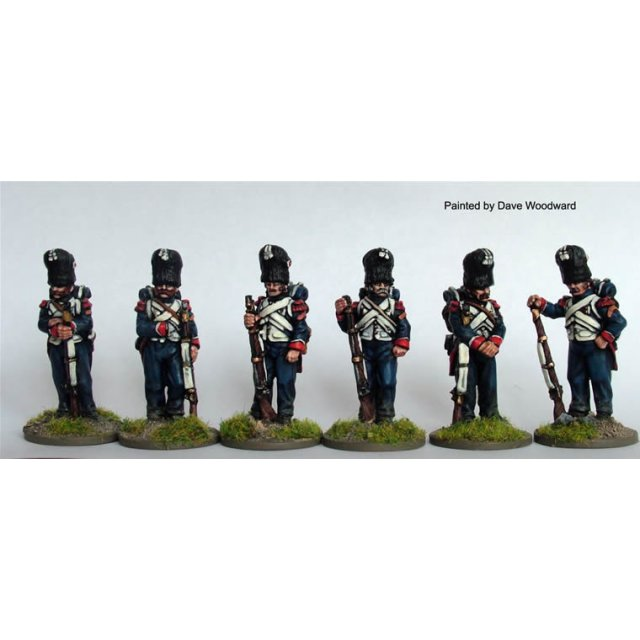 Chasseurs a Pied of the Imperial Guard standing casually