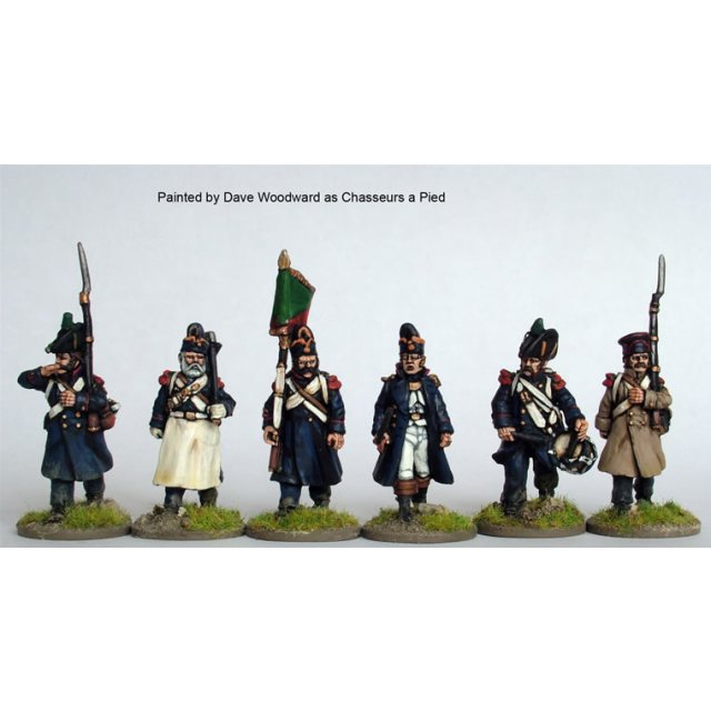 3rd/4th  Chasseurs a pied/ Grenadiers of the Imperial Guard com