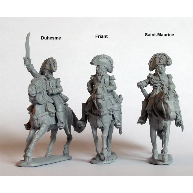 Imperial Guard Commanders mounted