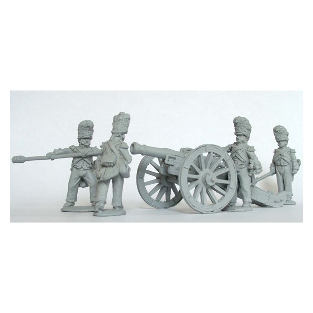 Foot Artillery of the Imperial Guard loading 12 pdr