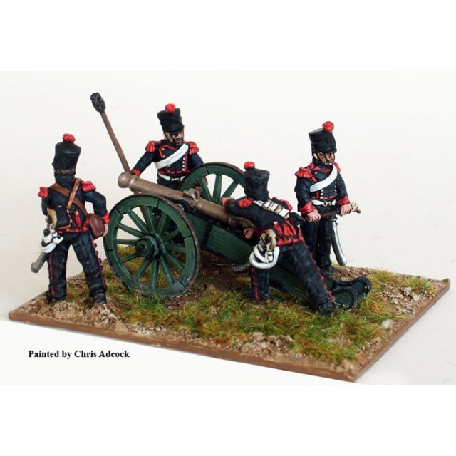 Line Horse artillery aiming 6 pdr