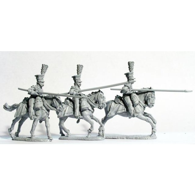 2nd Lancers of the Imperial Guard ,charging