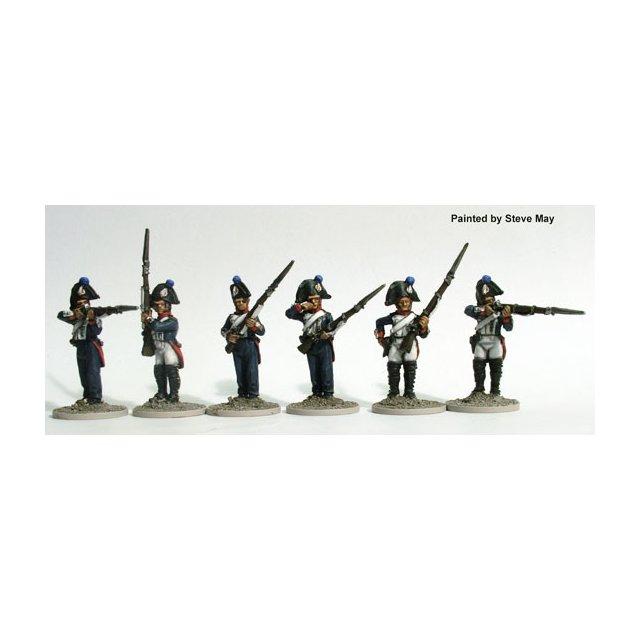 Paris National Guard of 1814 centre companies, firing line