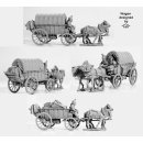 Two horse supply wagon 1807-15