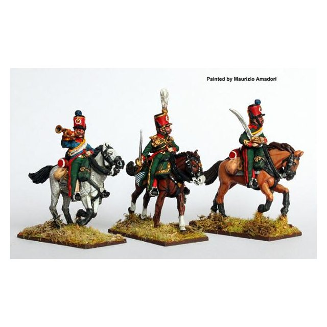 2nd Eclaireur regt. (Young Guard) command galloping, 1814