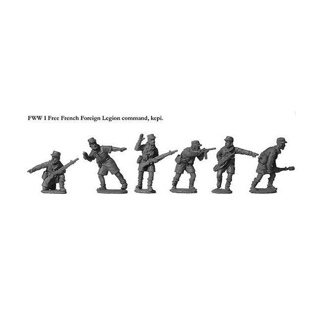 French Foreign Legion Command, kepi