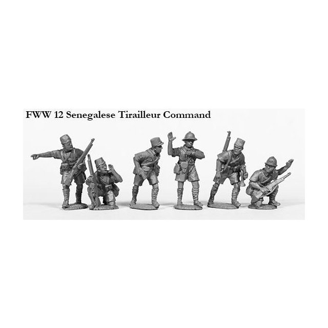 Senegalese Tirailleur command