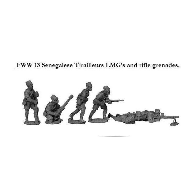 Senegalese Tirailleur LMGs