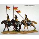 Line Cavalry, upright lance
