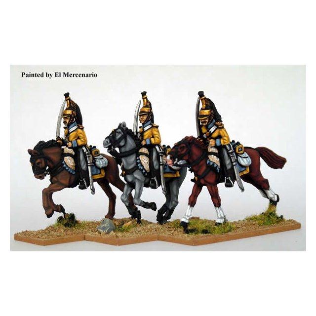 Line Cavalry, drawn sword, carbine