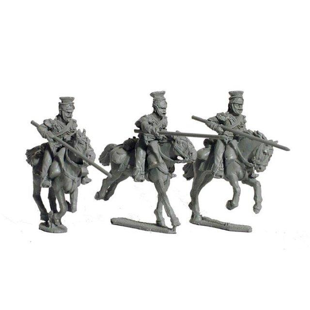FFL Polish Lancers charging, later uniform