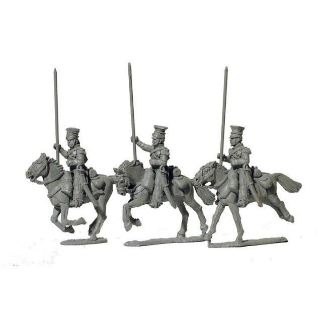 FFL Polish Lancers, lance upright, later uniform
