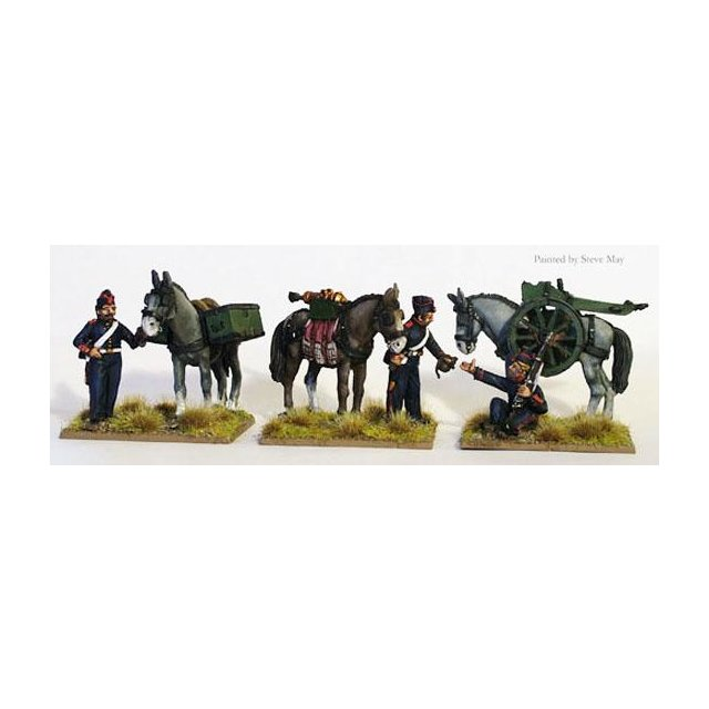 FFL Mountain gun mule train