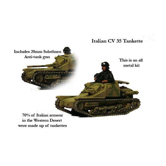 Italian CV 35 Tankette