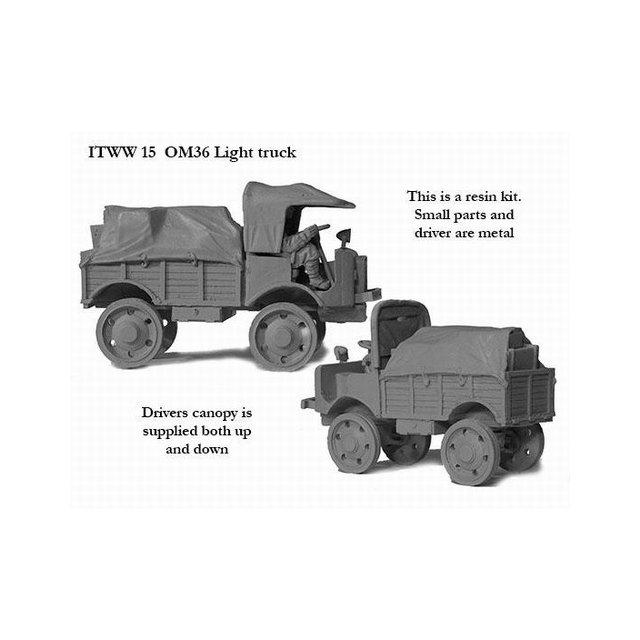 Italian OM 36 Light truck