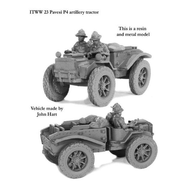 Pavesi P4/100 Artillery tractor