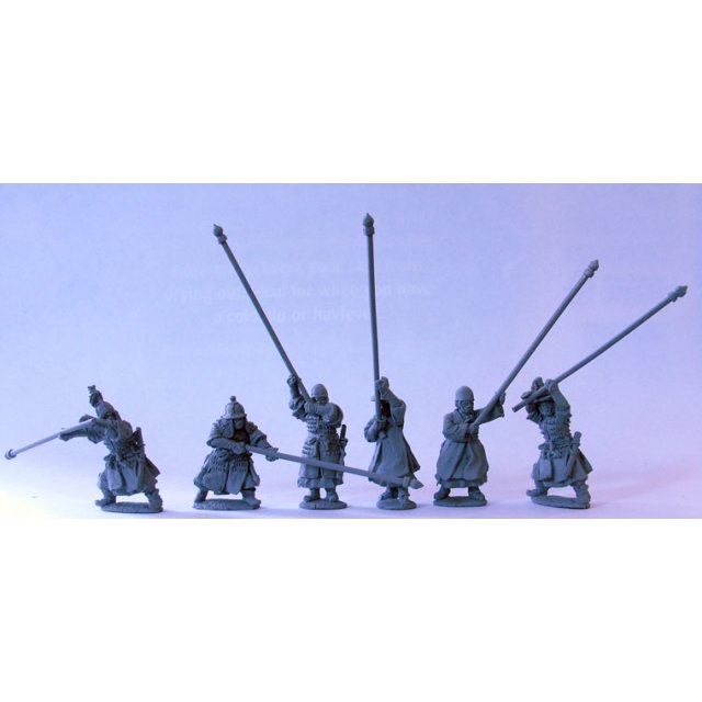 Standard bearers signalling with standards