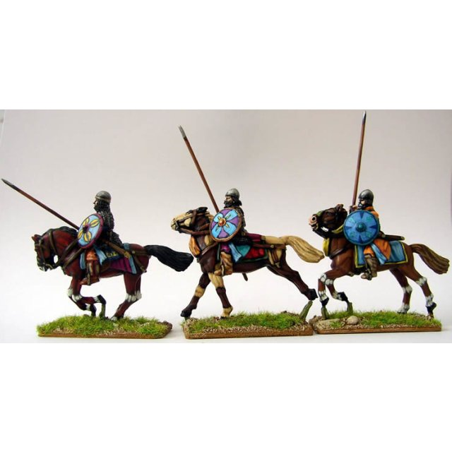 Saljuq / Syrian /Arab Heavy Cavalry, spear upright