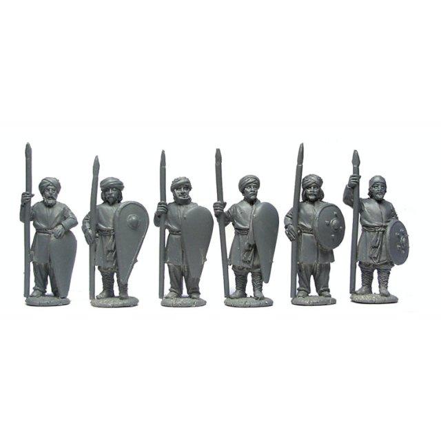 Arab Militia Spearmen, standing