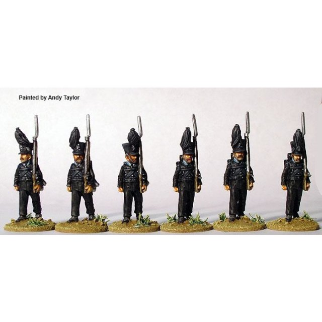 Leib-Battalion marching