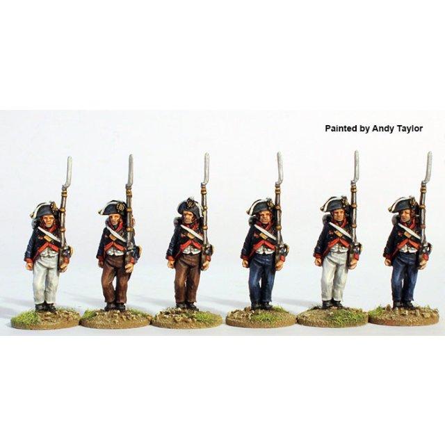 Saxe-Meiningen  company in bicornes marching