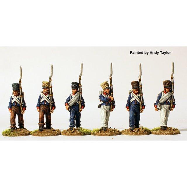 Saxe-Gotha- Meiningen Infantry in Spain, provisional uniforms ma