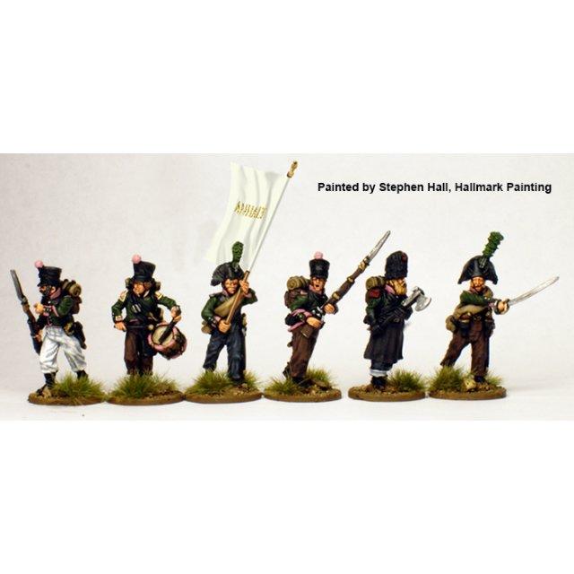 Anhalt command campaign dress advancing