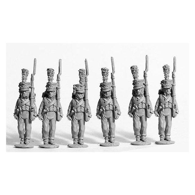 (7th regt.) Mecklenburg-Schwerin musketeers marching 1809-13