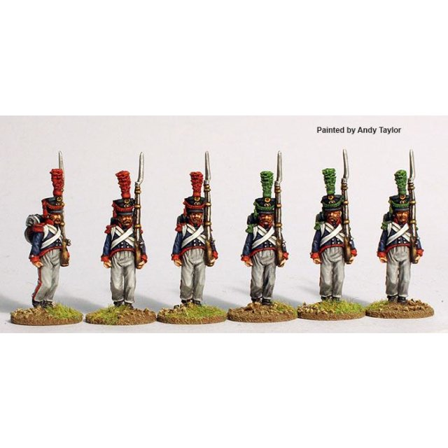 (7th regt.) Mecklenburg-Schwerin flank companies marching 1809-1