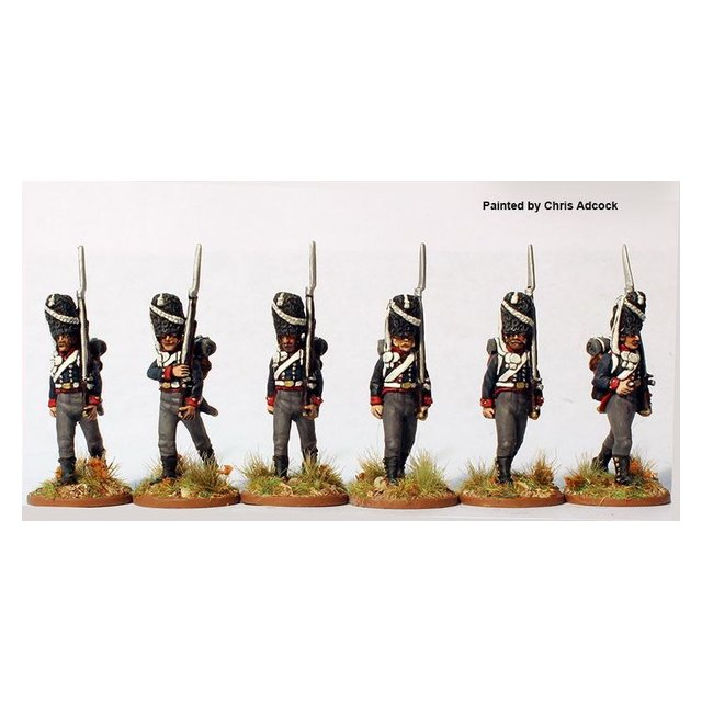 Duchy of Oldenburg Grenadiers marching 1808-11