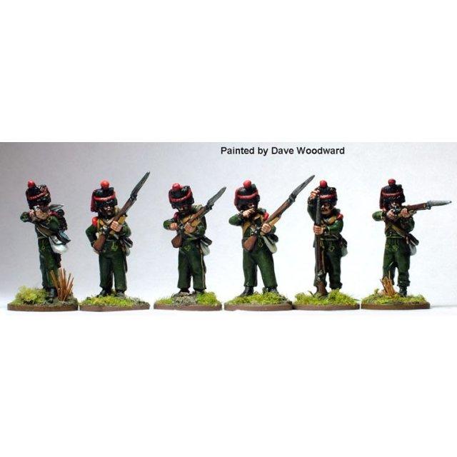 1st Nassau-Usingen regt. Grenadiers, firing line